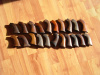21 PAIRS OF ORIGINAL COLT MODEL 1851 NAVY GRIPS