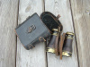 WWI FRENCH MILITARY BINOCULARS WITH CASE