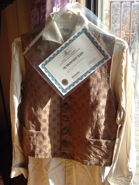 "COSTUME FROM THE FILM ""THE MAGNIFICENT SEVEN"""