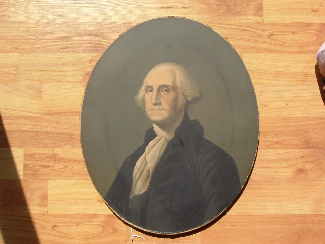 GEORGE WASHINGTON NATIONAL OIL PORTRAIT