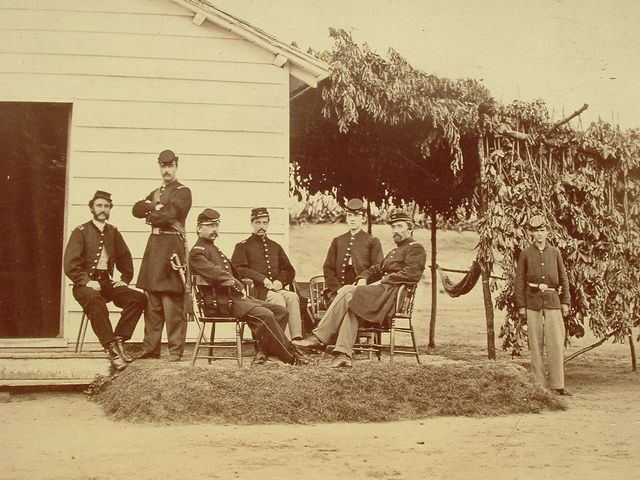 CIVIL WAR 3RD MASSACHUSETTS ARTILLERY OFFICERS