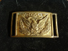 CIVIL WAR OFFICER'S BELT PLATE WITH KEEPER