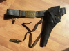 INDIAN WARS HOLSTER, BELT & PLATE RIG